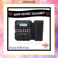 ZOOM G1X FOUR Guitar Multi-Effects Pedals / Guitar Effect / Efek