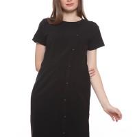Short Sleeves Dress The Executive, 5-DIWFNR319J087-BLACK