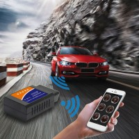 Bayar Di TempatV03hw-1 Scanner Diagnostik OBD2 Versi Wifi Support