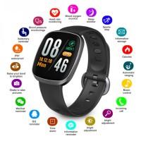 Smart Watch Tahan Air Model Layar Sentuh untuk Pelacak Kebugaran Deny