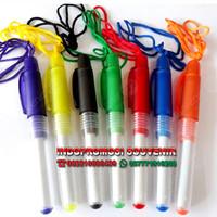 pulpen plastik murah - pen boss tali custom logo