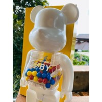 MY FIRST BABY BEAR BEARBRICK WHITE COLOR FIGURE 400% BE@RBRICK
