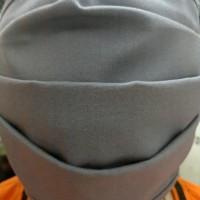 Masker Kain Katun Tebal 3 lapis ,warna mix