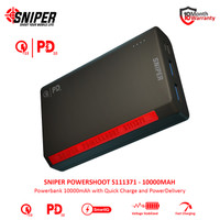 Powerbank Sniper PowerShoot S111371 10000mAh
