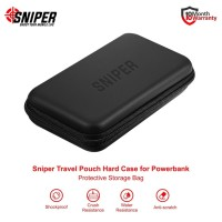Travel Pouch Sniper Hard Case for Powerbank