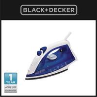 Black+Decker Setrika Uap Otomatis Steam Iron 450W (AJ2000)