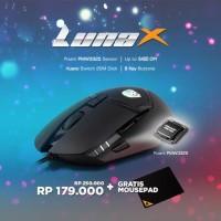 Mouse Gaming Digital Alliance Luna X Free MOUSEPAD
