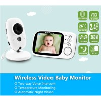 VB603 Wireless Baby Monitor with 3.2Inches LCD 2 Way Audio NightVision