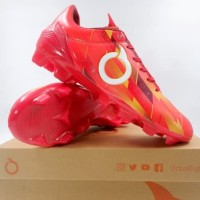Sepatu Bola Ortuseight Catalyst Therion FG Ortrange Red 11010141 Ori