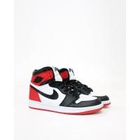 Nike Air Jordan 1 Retro High OG - Satin Black Toe