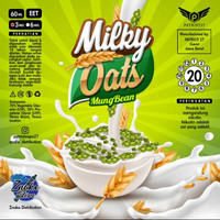 Milky Oats Mung Bean 60ML by Patriot27 100% Authentic