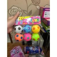 Bola Karet isi 6 Mainan Anak