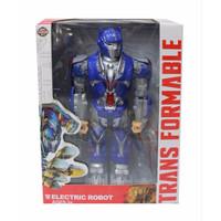 Mainan Anak Electric ROBOT TRANSFORMABLE Transformers Optimus Prime