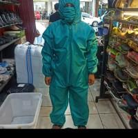 baju APD baju hazmat bahan parasut waterproof