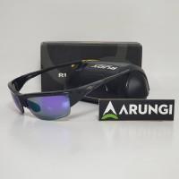 Kacamata Rudy Project Ryzer Black Gloss Multilaser Purple