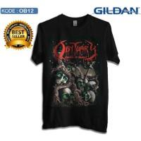 Kaos obituary band metal - Kaos original gildan softstyle
