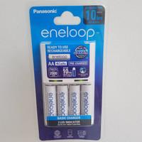 Eneloop panasonic AA 2000mAh 4pcs AA/ charger+ 4 batre eneloop