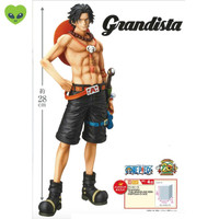 Portgas D Ace Action Figure One Piece Grandista