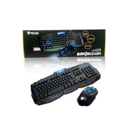 Rexus Warfaction VR2 Keyboard + Mouse Gaming Wireless Combo RX-VR2 MK