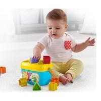 Fisher Price first baby block mainan bayi original