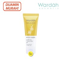Wardah Nature Daily Witch Hazel Purifying Moisturizer Gel, 40ml