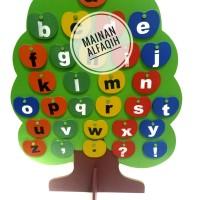 Mainan Edukasi Anak Pohon Huruf Abjad