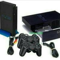 SONY PS2/ PS 2 FAT SER3/5 MULTIFUNGSI+N. A HDD 160GB(INTERNAL)FULLGAME