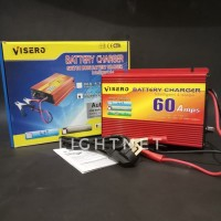 Charger Aki 12V 60 Ampere automatis / Battery Charger VISERO digital