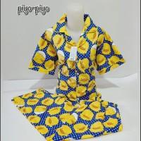Piyama Katun Celana Panjang / Piyama / Baju Tidur