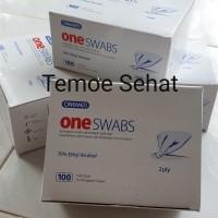 Tisu alcohol 70% OneMed tissue 2 ply steril