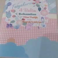 Buku tasyakuran 4 bulanan kehamilan