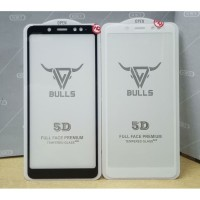 Tempered Glass 9D Full Redmi Note 5,Redmi note 5 pro Hitam/Putih