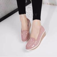 sepatu emory fashion pink