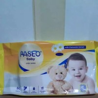 tissue paseo baby wipes 50 sheets