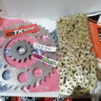 gear SET 520 TK O-RING NINJA 250 N250 Z250 MONO SL BAJA RACING NO SSS