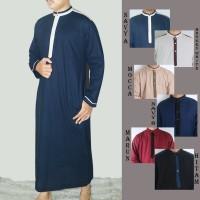 Gamis pria muslim   jubah koko muslim dewasa