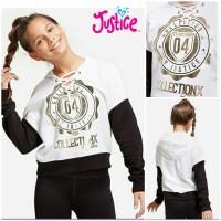 Sweater Hoodie anak perempuan merk justice sisa ekspor (motif3)