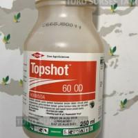Herbisida sistemik purna tumbuh TOPSHOT 60od buat tanaman padi.250ml