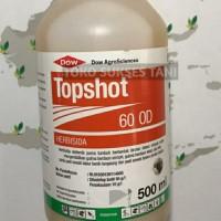 Herbisida sistemik purna tumbuh TOPSHOT 60od buat tanaman padi.500ml