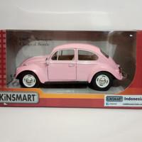 Diecast volkswagen beetle 1967 pink miniatur mobil VW kodok kinsmart