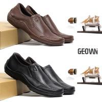 Sepatu Pantofel Pria Formal Kulit Asli Geovani S - P03