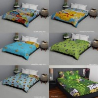 Bed Cover Anak single - 7star by King Rabbit - 140 x 220