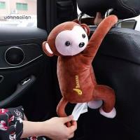 tempat tissue monyet kotak tisue monyet boneka anak tenpat tisue mobil