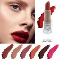 【】PHOERA Makeup Matte Lipstik Non-stick Cup Waterproof Pelembab