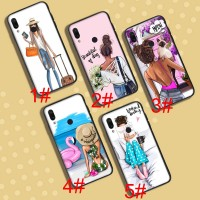 A-128 Lady's journey Soft Case Xiaomi Redmi Note 6 7 Pro 6A S2 Go