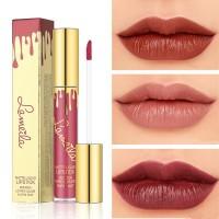 【】Matte Face Lip Glaze Makeup Non-Stick Cup Lasting Pumpkin