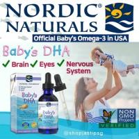 * Nordic Naturals Babys Dha Omega3 With Vitamin D3 60ml Vitamin Bayi