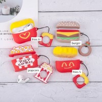 Foodie Boba 3D Silicone Case for AIRPODS PRO Casing Pouch with Hook