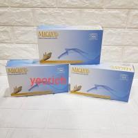 Termurah Sarung tangan latex / karet MACAN Powder 1 box 100pcs