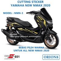 Cutting sticker yamaha nmax NMN3 stiker variasi skotlet nmax 2020